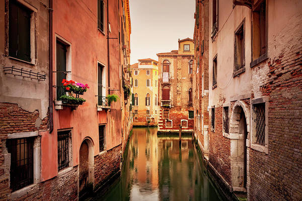 Wall Art - Photograph - Canal Of Venice by Svetlana Sewell