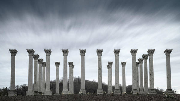 Wall Art - Photograph - Capitol Columns by Robert Fawcett