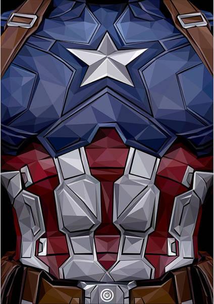 Captain America 1 Art Print