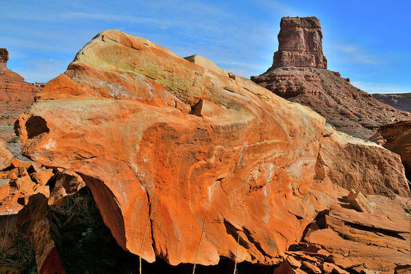 Photograph - Castle Butte In Valley Of The Gods by Ray Mathis