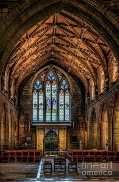 Wall Art - Photograph - Cathedral Window by Adrian Evans