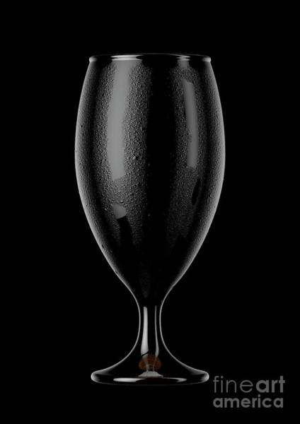 Draught Digital Art - Chalice Beer Pint by Allan Swart