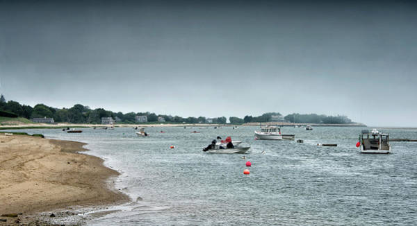 Wall Art - Photograph - Chatham Harbor - Cape Cod Massachusetts by Brendan Reals