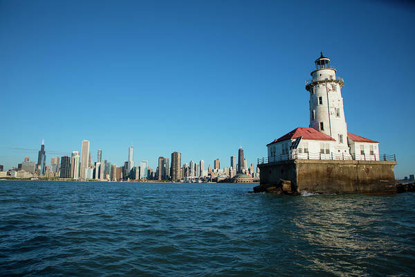 Wall Art - Photograph - Chicago Harbor Lighthouse by Panoramic Images