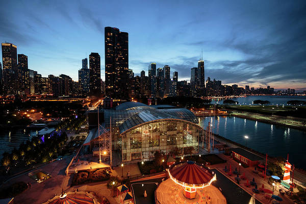 Wall Art - Photograph - Chicago, Illinois, Usa by Brent Bergherm