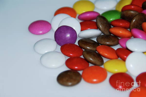 Photograph - Chocolate Beans by Jenny Potter