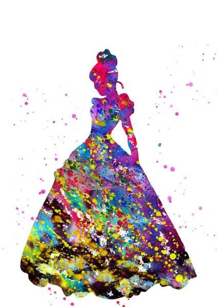 Wall Art - Digital Art - Cinderella by Erzebet S