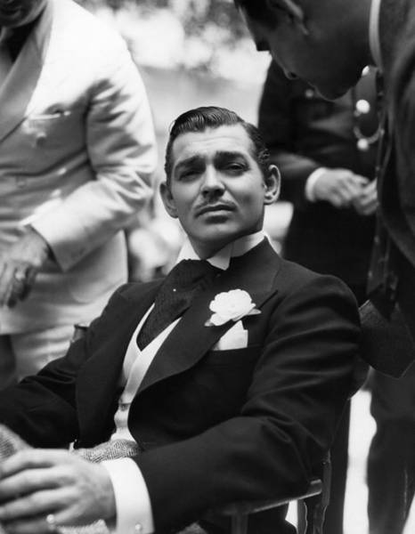 Sex Symbol Photograph - Clark Gable by Hulton Archive