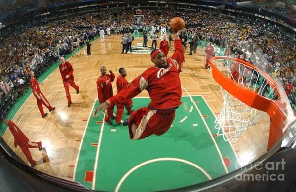 Wall Art - Photograph - Cleveland Cavaliers V Boston Celtics by Brian Babineau
