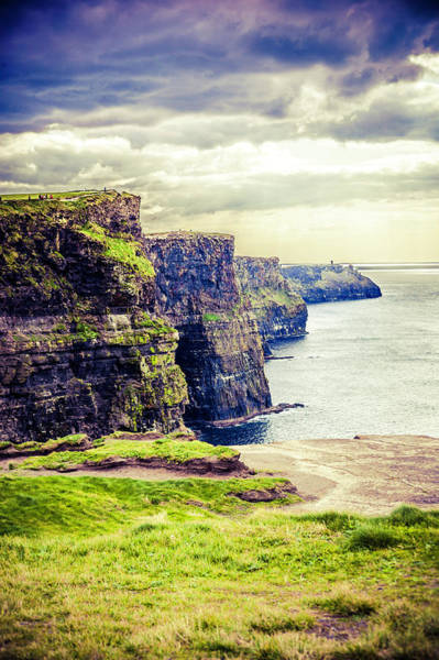 Moher Photograph - Cliffs Of Moher, Ireland by Moreiso