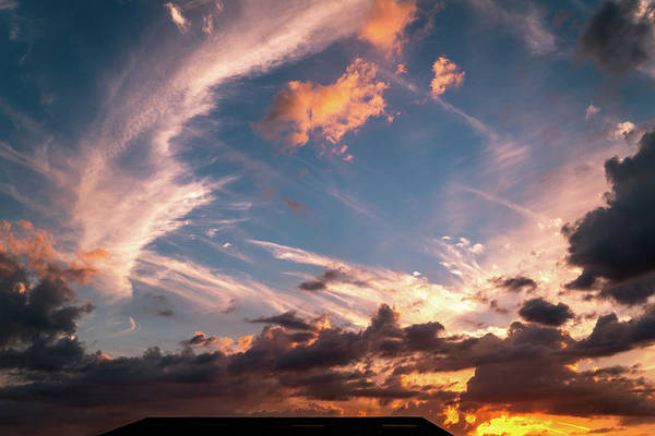 Sea Wall Art - Photograph - Cloud Filled Sunset by Ric Schafer