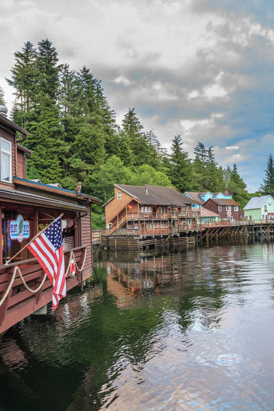 Wall Art - Photograph - Creek Street, Tourist Walk, Ketchikan by Stuart Westmorland