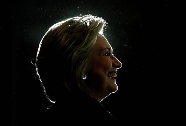 Democracy Photograph - Democratic Presidential Nominee Hillary by Justin Sullivan