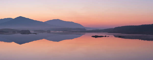 Wall Art - Photograph - Derryclare Lough At Dawn, Connemara by Ben Pipe Photography