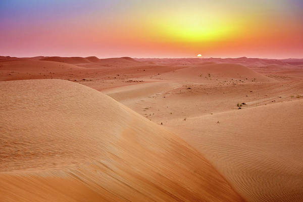 Wall Art - Photograph - Desert Sunrise by Alexey Stiop