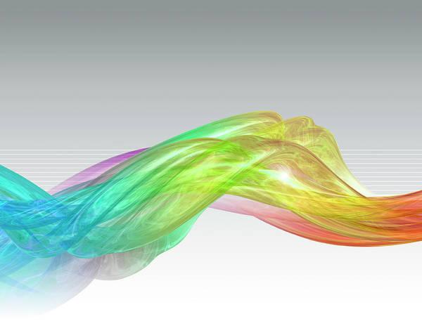 Digital Art - Digital 3d Lightscape by Don Bishop