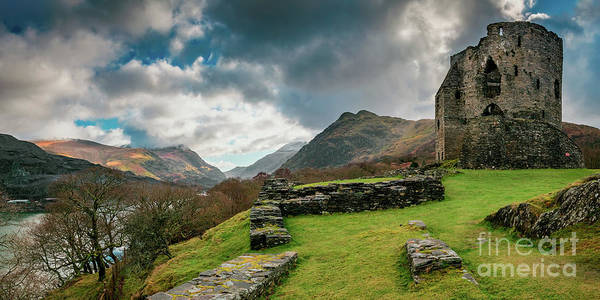 Wall Art - Photograph - Dolbadarn Castle Snowdonia by Adrian Evans