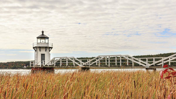 Photograph - Doubling Point Lighthouse In Maine by Kyle Lee