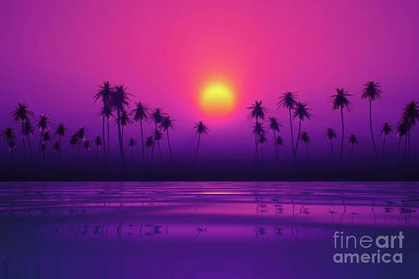 Wall Art - Photograph - Dramatic Purple Sunset by Aleksey Tugolukov
