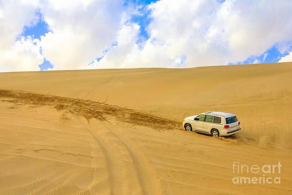 Photograph - Dune Bashing Qatar by Benny Marty