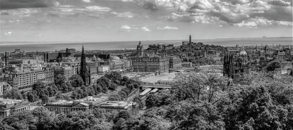 Wall Art - Photograph - Edinburgh Panorama by Pixabay