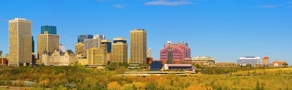 Wall Art - Photograph - Edmonton Skyline by Design Pics