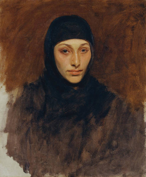 Wall Art - Painting - Egyptian Woman by John Singer Sargent