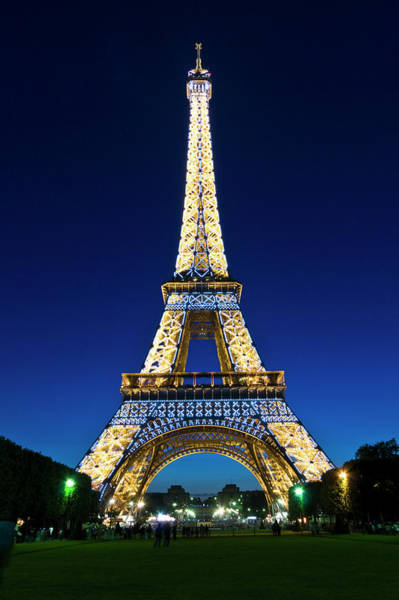 Wall Art - Photograph - Eiffel Tower, Paris, France by John Harper