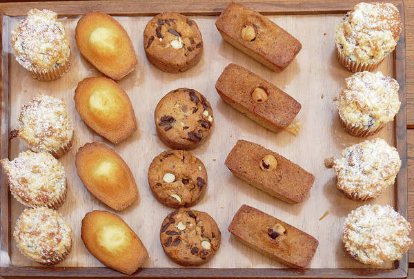 Photograph -  Elaborate Pastries And Cookies At A Luxury Hotel by Steve Estvanik