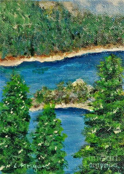 Painting - Emerald Bay Lake Tahoe by Laurie Morgan