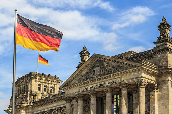 Wall Art - Photograph - Facade And Dome Of The Deutscher by Miva Stock