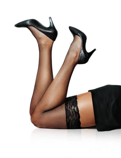 Photograph - Female Legs by Jelena Jovanovic