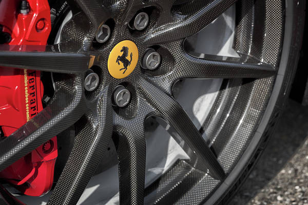 Photograph - #ferrari #488pista #print by ItzKirb Photography