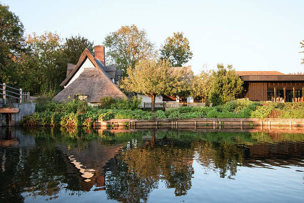 English Countryside Photograph - Flatford Mill by Martin Newman