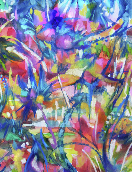 Painting - Flower Intensive by Jean Batzell Fitzgerald