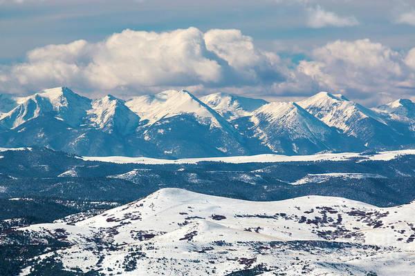 Photograph - Fresh Snow On The Sangre by Steve Krull