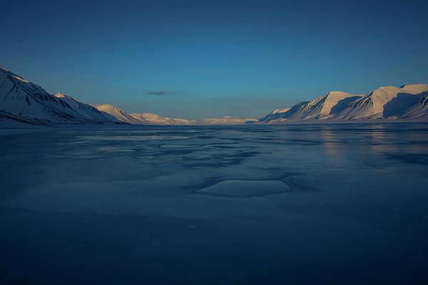 Photograph - Frozen Fjord by Kai Mueller