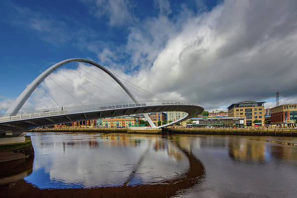Bridge Mixed Media - Gateshead Millennium Bridge by Smart Aviation