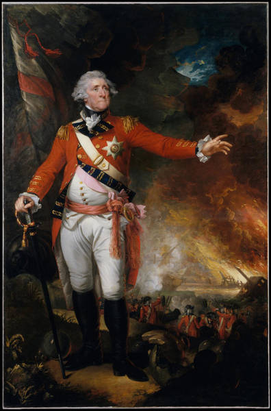 Wall Art - Painting - General George Eliott by Mather Brown