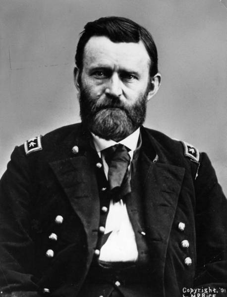 U. S. Presidents Wall Art - Photograph - General Grant by Hulton Archive