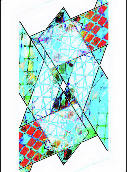 Wall Art - Photograph - Geometric Pattern Illustration by Tom Gowanlock
