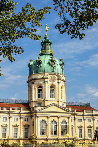 Wall Art - Photograph - Germany, Berlin Charlottenburg Palace by Miva Stock
