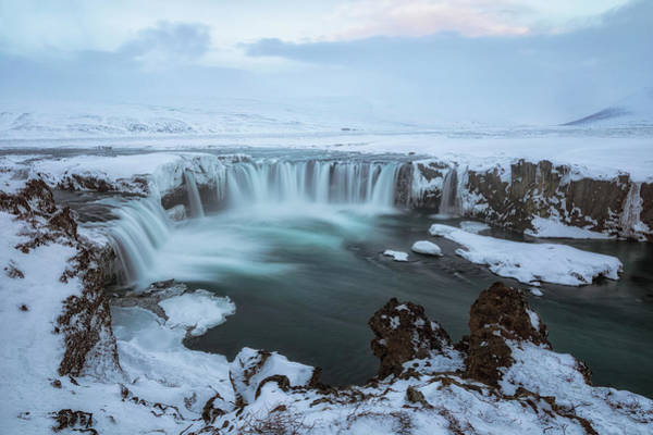 Schnee Wall Art - Photograph - Godafoss - Iceland by Joana Kruse