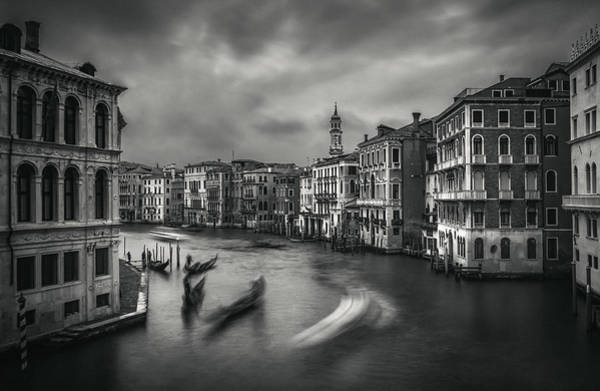Photograph - Grand Canal Of Venice by Suleyman Derekoy