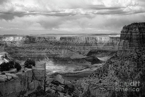 Wall Art - Photograph - Grand Canyon Black  by Chuck Kuhn