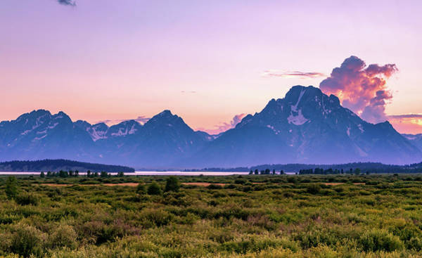 Sea Wall Art - Photograph - Grand Tetons by Ric Schafer