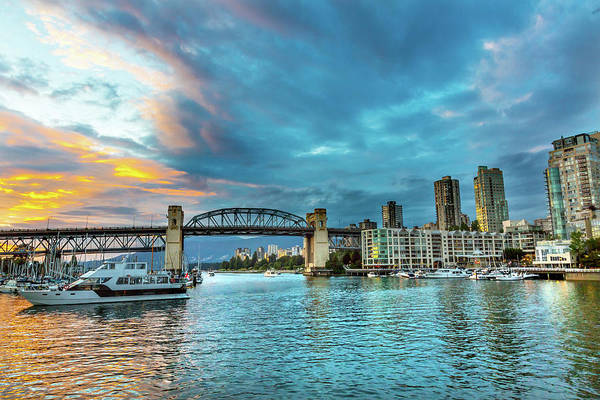 Wall Art - Photograph - Granville Island, Burrard Street by William Perry