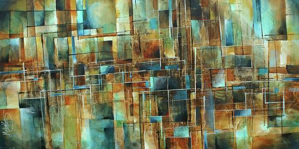 Wall Art - Painting -  Gravity by Michael Lang