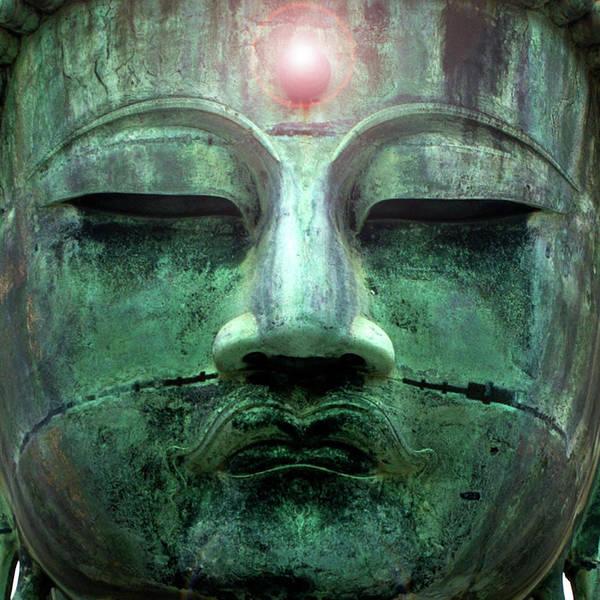 Statue Photograph - Great Buddha Daibutsu At Kamakura by Ultra.f