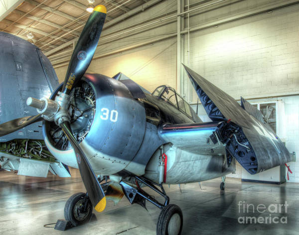 Ju 52 Wall Art - Photograph - Grumman, Fm-2 Wildcat by Greg Hager